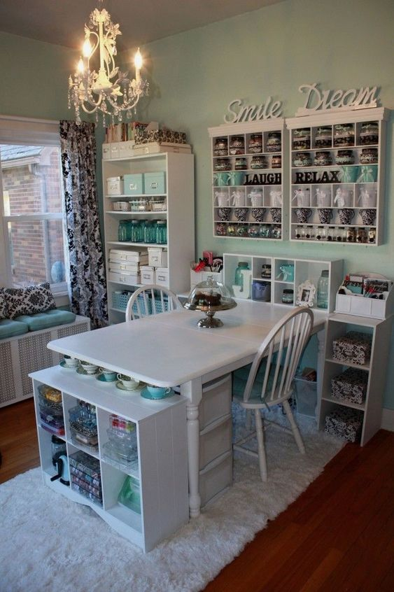 come arredare una craft room