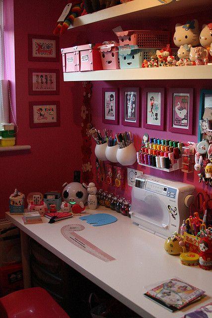 consigli su come arredare una craft room