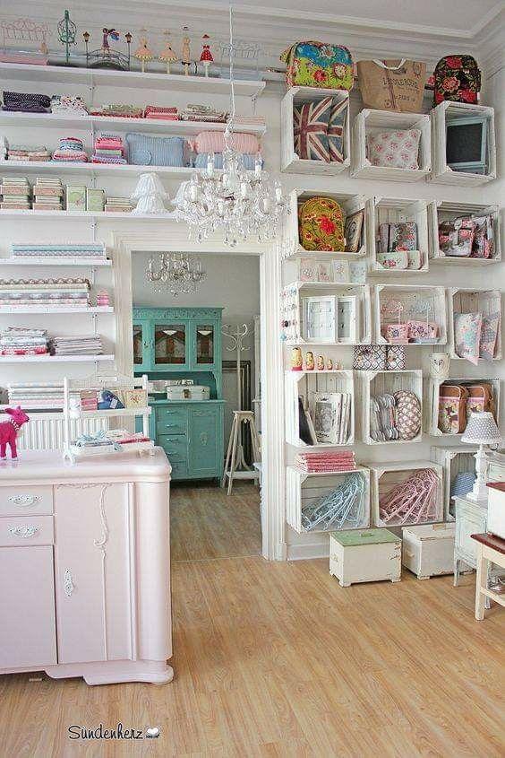 consigli per creare una craft room
