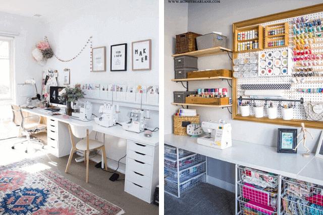 Come organizzare una craft room