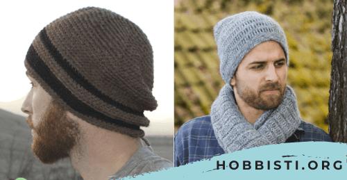 Cappelli uomo a uncinetto: Schemi e Modelli