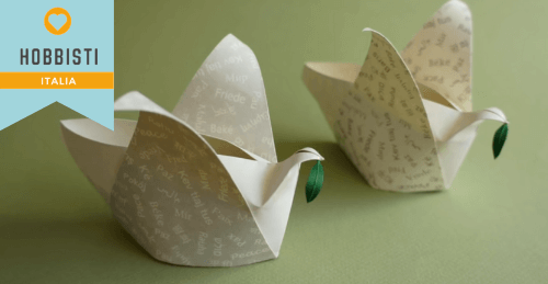 Tutorial Colomba Origami