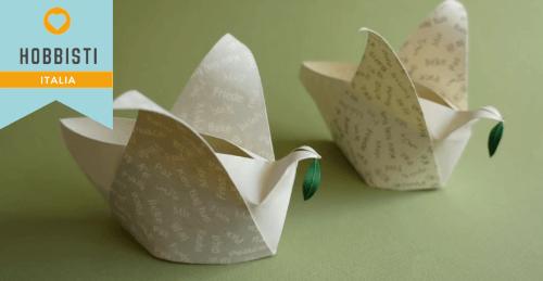 Tutorial Colomba Origami