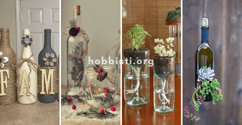 Riciclare bottiglie di vetro: ecco le più belle idee